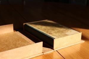 Boîte de conservation en papier, boite pour livres