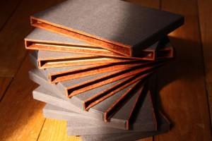 L'étui et la boîte de conservation pour livres - Etuis à bords carrés