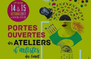 Portes ouvertes des ateliers d'artistes 2017 du Loiret