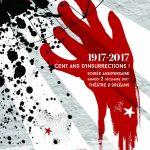 Exposition Cent ans d'insurrections Théâtre d'Orléans du 28 novembre au 10 décembre