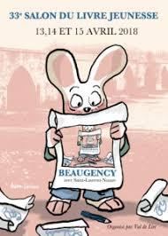 salon du livre jeunesse de Beaugency du 13 au 15 avril 2018