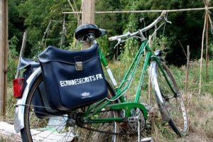 Vélo publicitaire de l'atelier