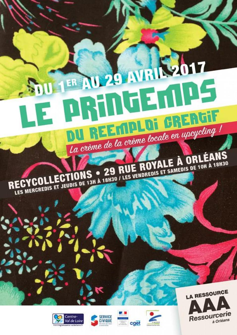 Exposition chez Recycollections du 1er au 29 avril 2017
