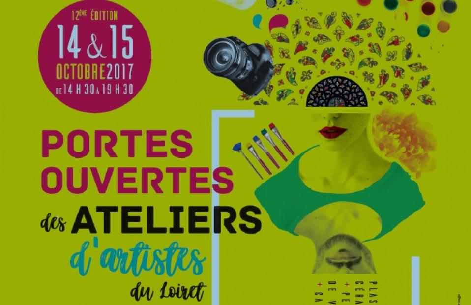 Portes ouvertes des ateliers d'artistes du Loiret 2017