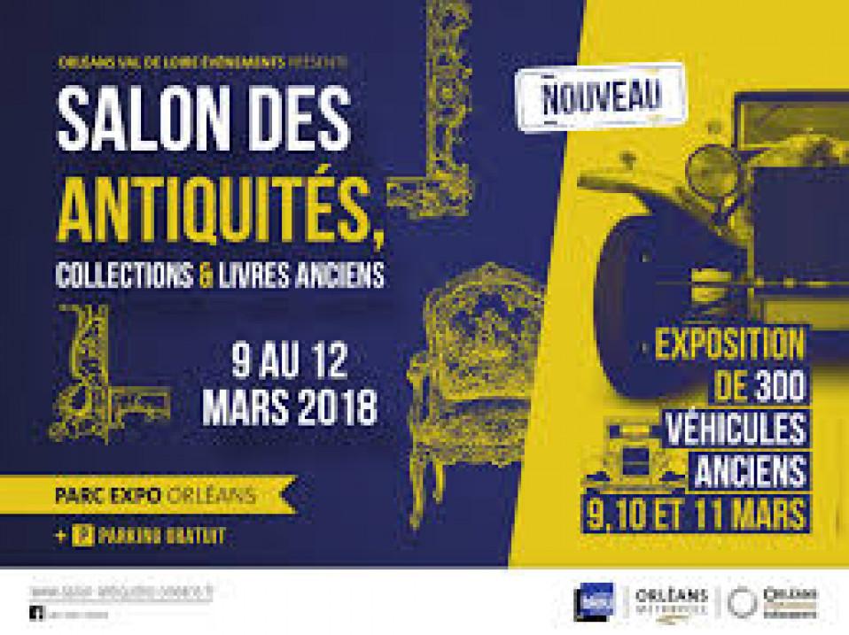 Salon des Antiquités du 9 au 12 mars 2018