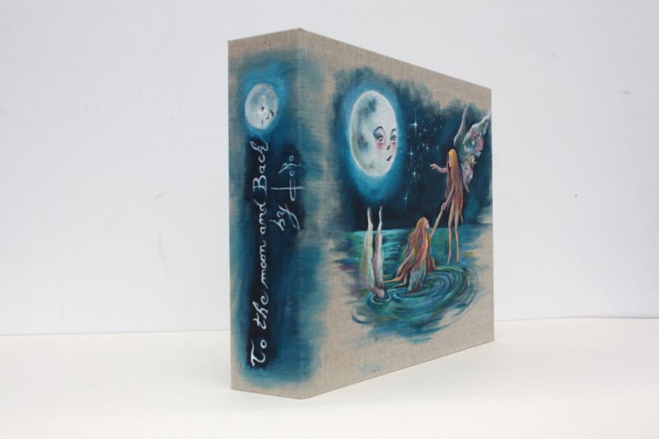 Coffret et exposition mobile pour Dorothée Proust
