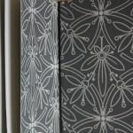 Gardes intérieures en papier peint anglais