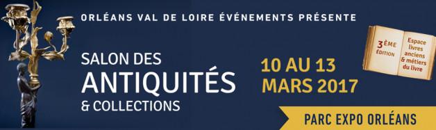 Salon des Antiquités d'Orléans du 10 au 13 mars 2017
