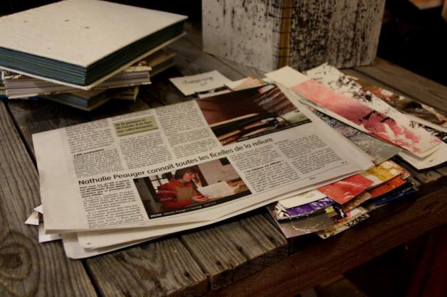 Un petit article sur l'atelier dans le journal La République du Centre