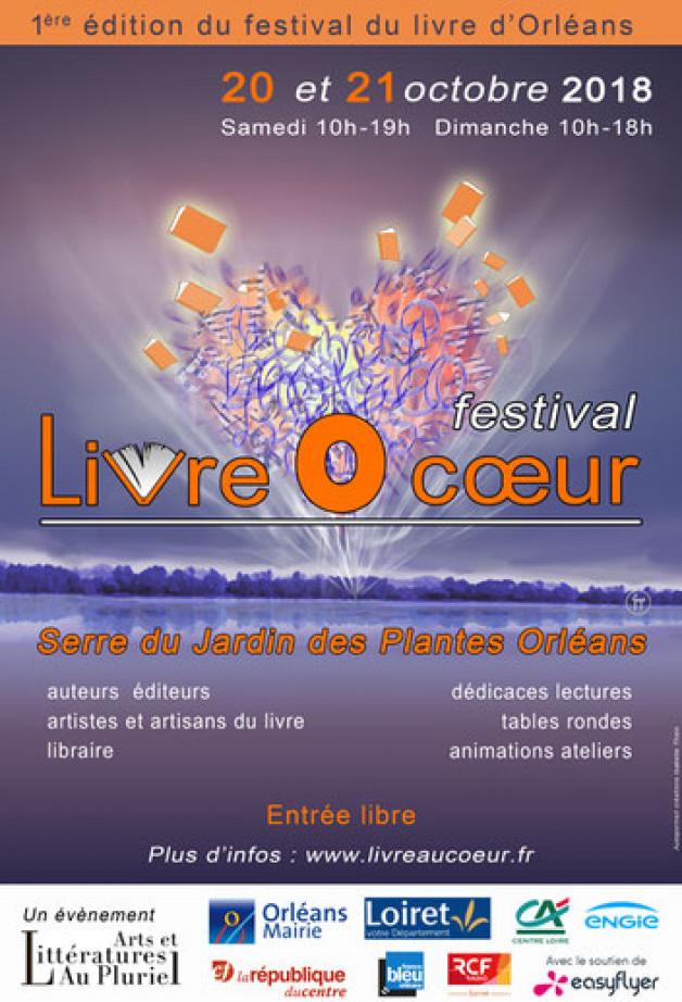 Festival Livre O Coeur le 20 et 21 octobre 2018